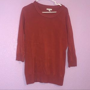 New York and company size large sweater